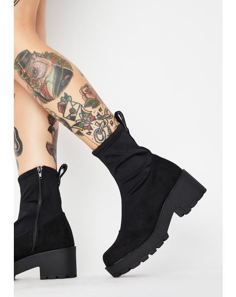 Pace Platform Sock Boots