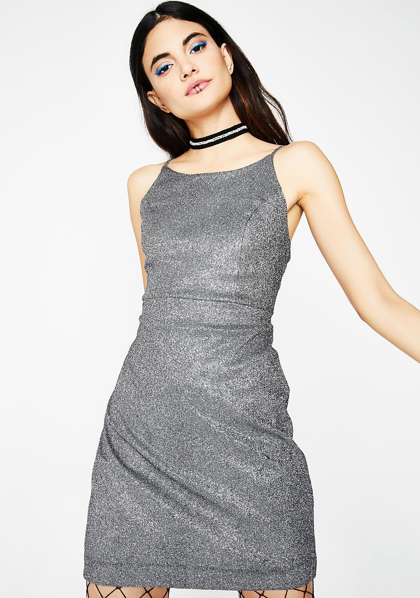 Sparkly Mini Dress | Dolls Kill