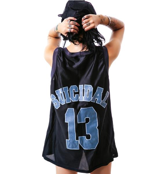 Suicidal Tendencies Basketball Jersey