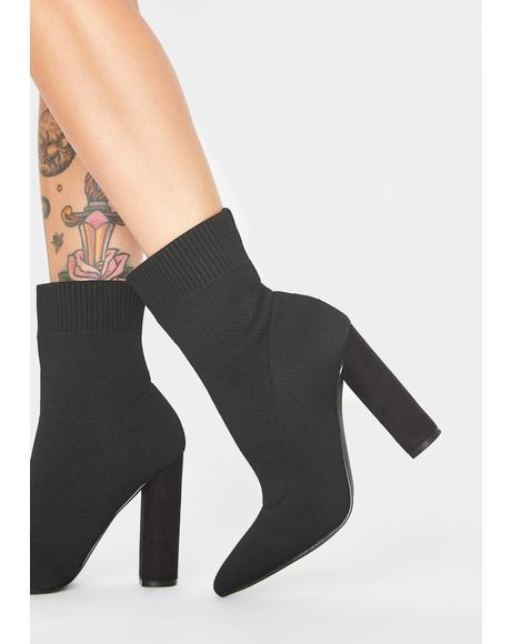 Pretty N' Petty Sock Boots