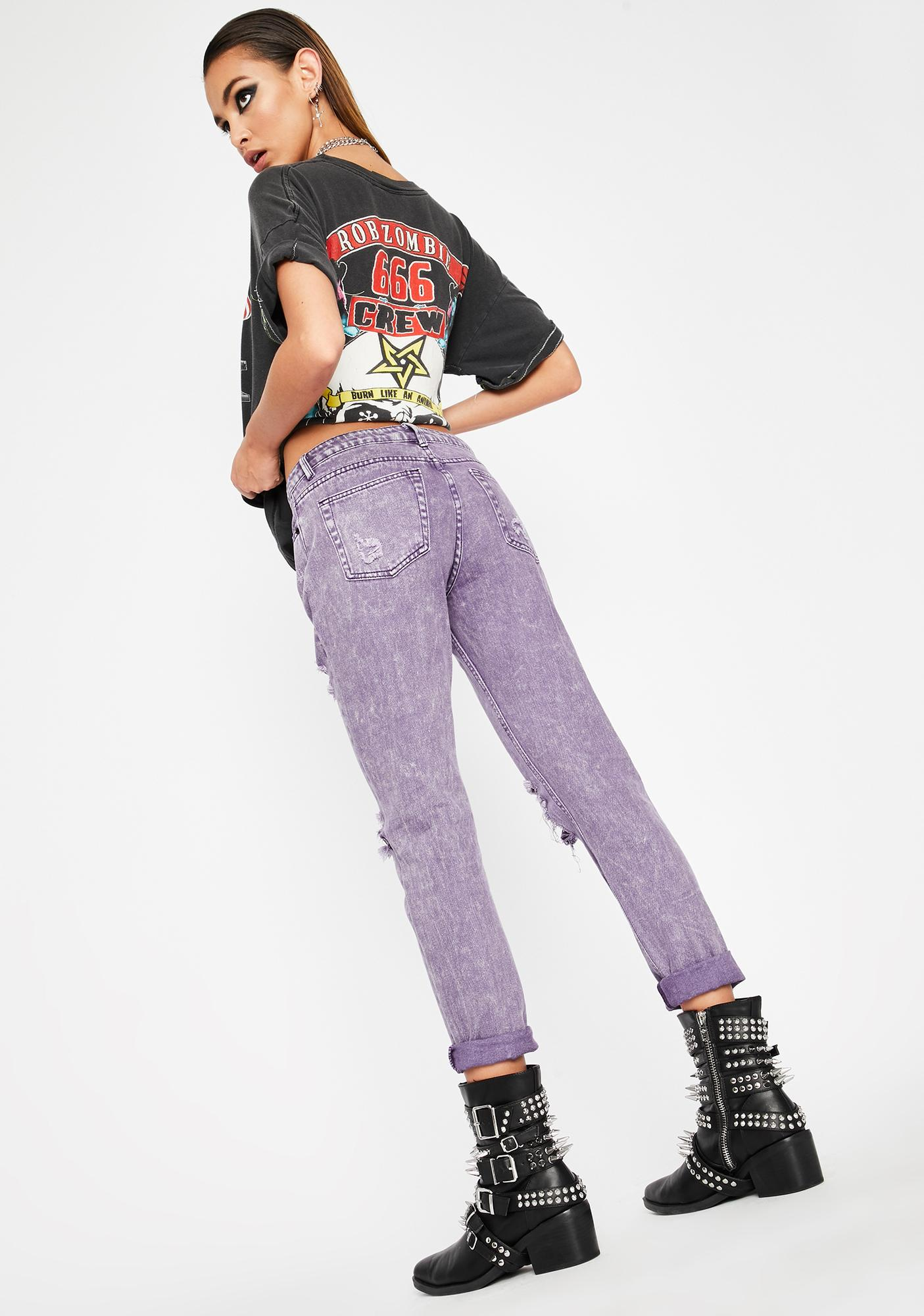 Purp Hardcore Hooligan Distressed Jeans