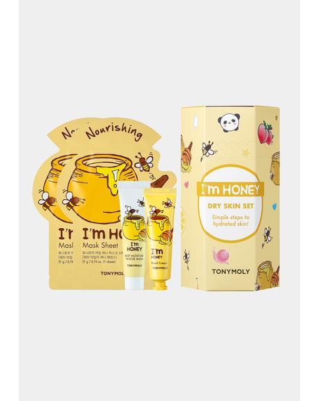 I'm Honey Dry Skin Set