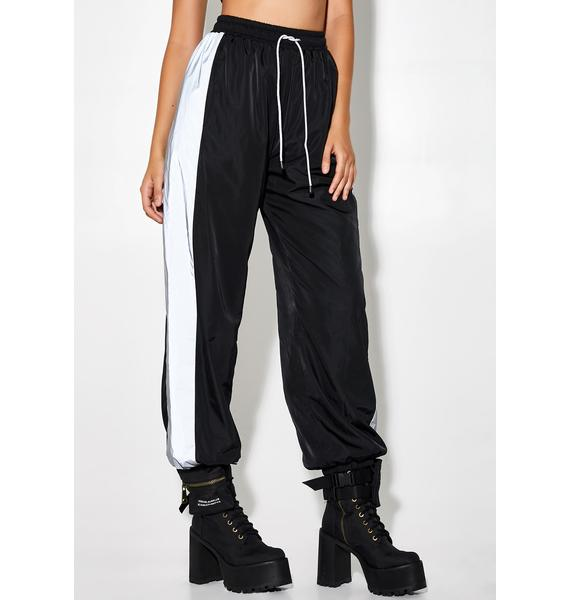 Poster Grl Run The Game Track Pants