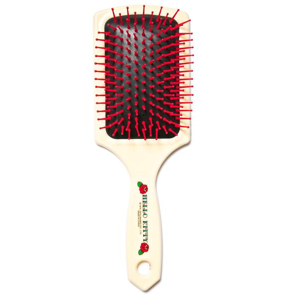 Sanrio Rose Hello Kitty Hair Brush