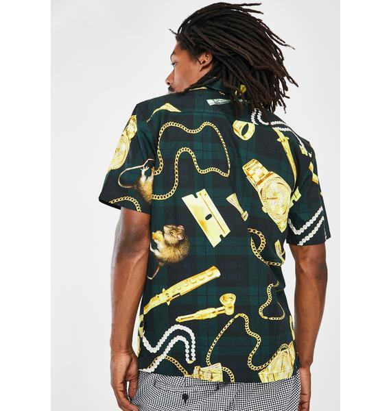 HUF Tenderloin Woven Shirt