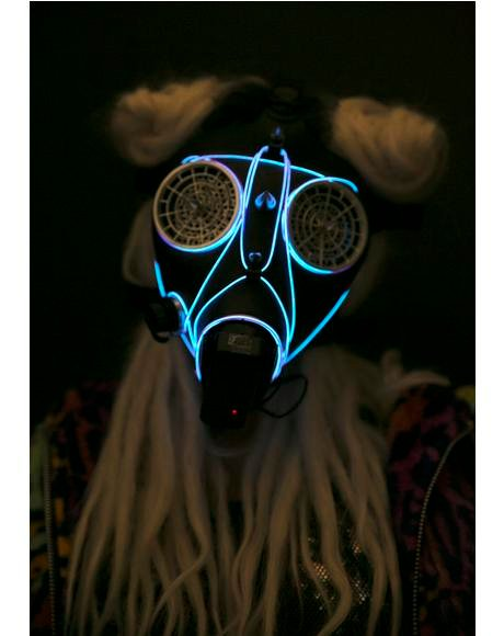 Wasteland Light-Up Mask