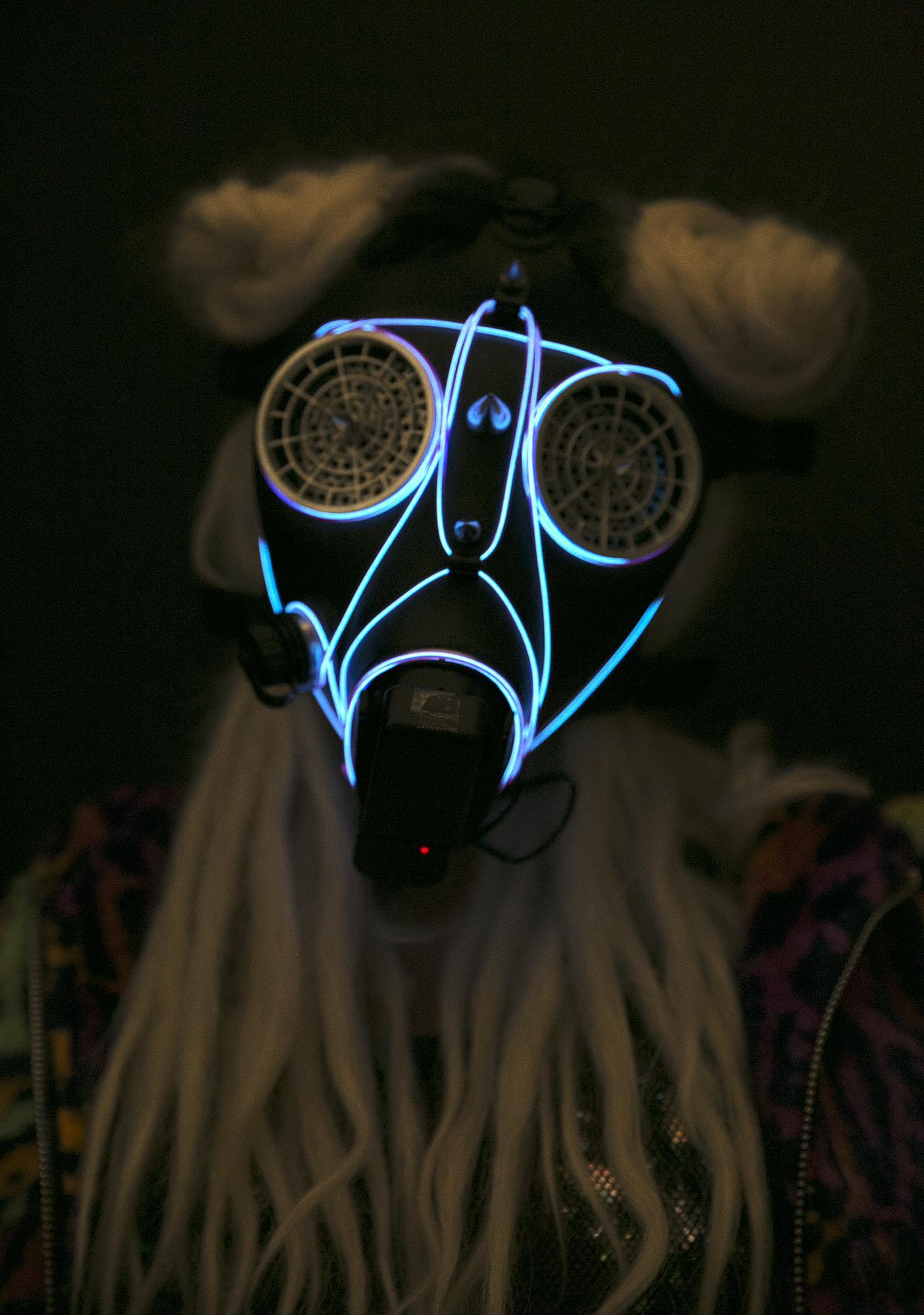 Wasteland Light-Up Mask
