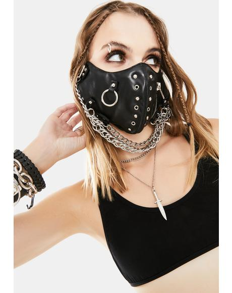 Blazing Chain Face Mask