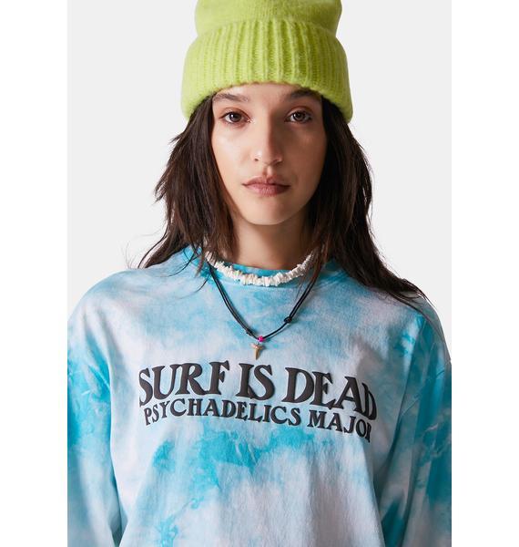 Surf is Dead Village Green Long Sleeve Tee