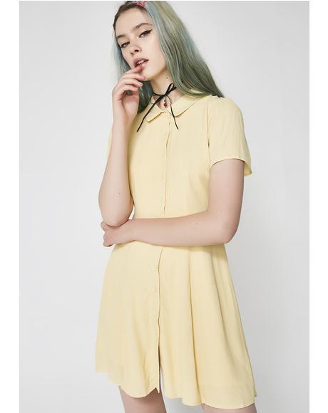 Girl Talk Shirt Dress