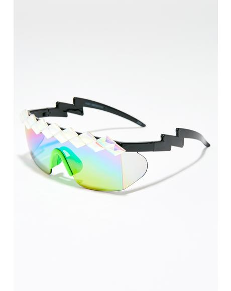 Sparkle Sport Sunglasses