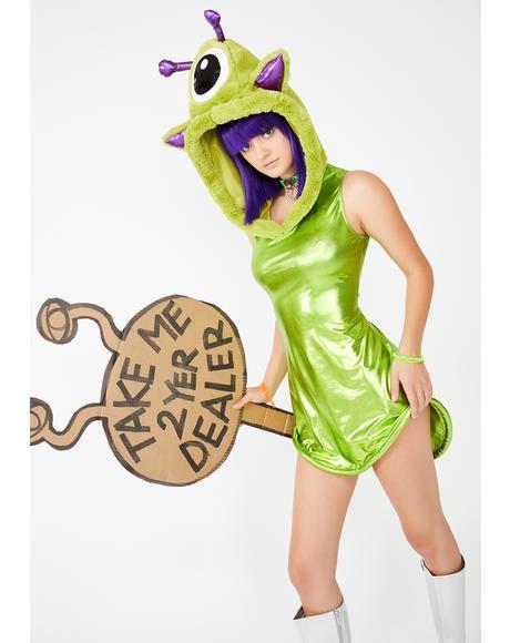 Galactic Breakout Alien Costume