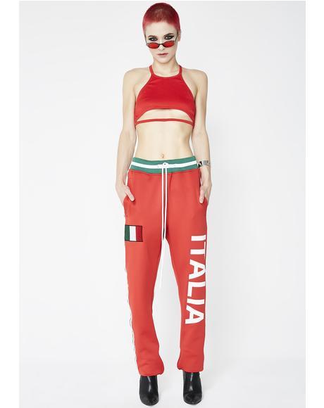 Italia Track Pants