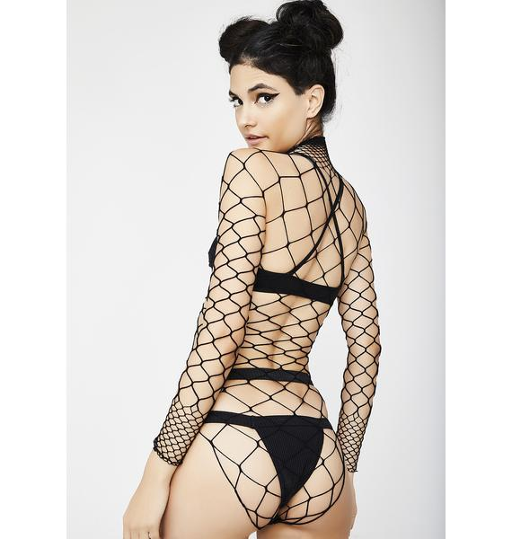 The Damned Fishnet Bodysuit