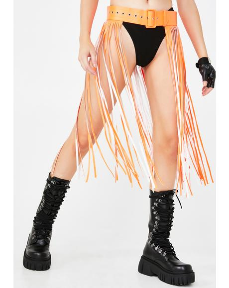 Neon Dimension Fringe Belt