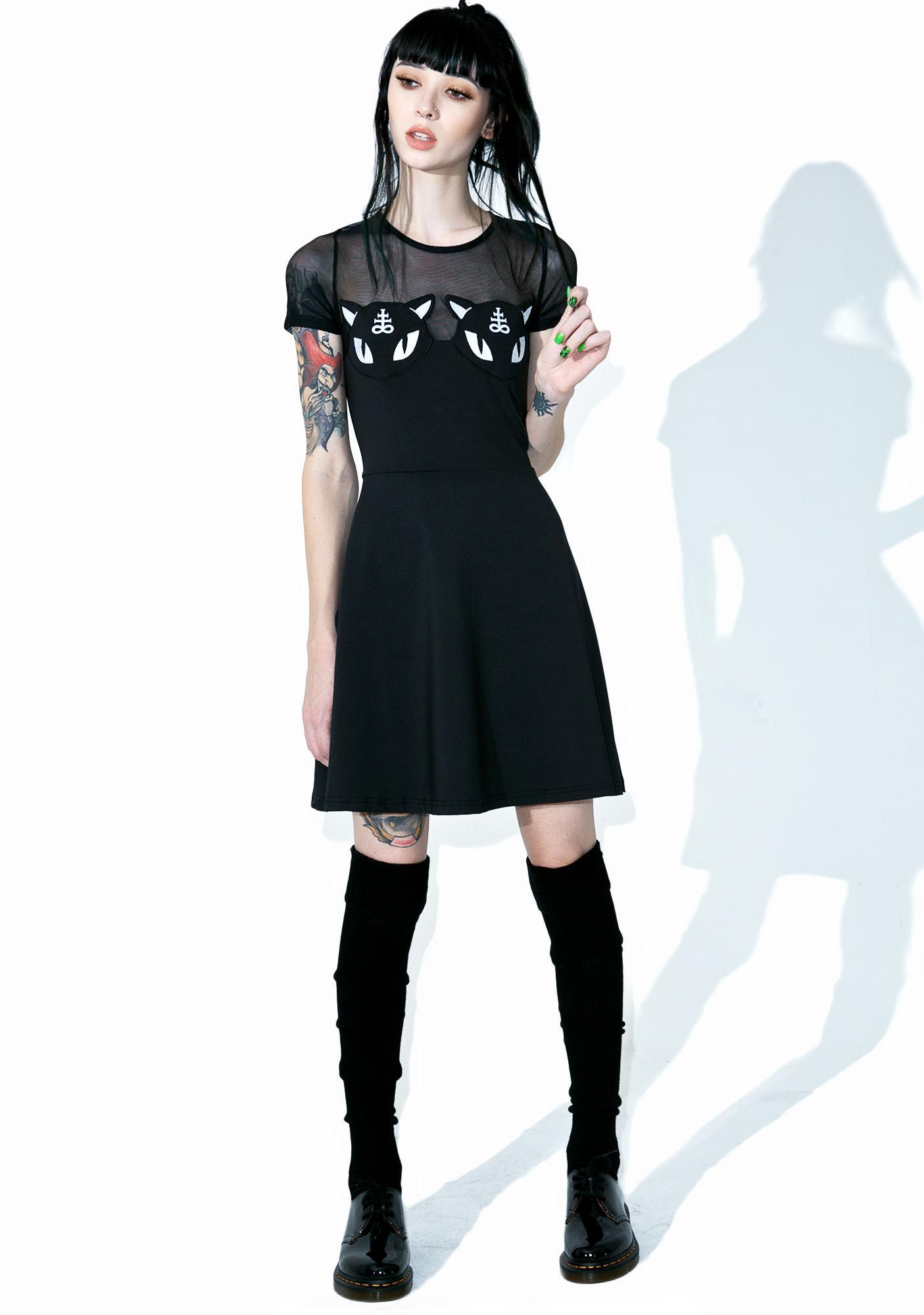 Killstar Show Me Your Kitties Dress