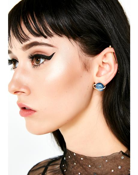 Not Human Stud Earrings