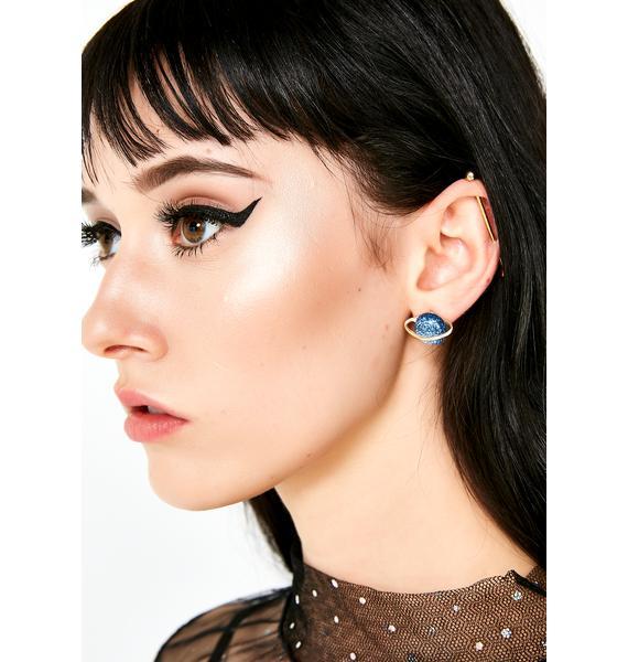 Not Human Stud Earrings