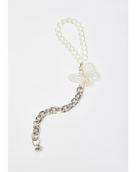 Fly So High Chain Phone Strap