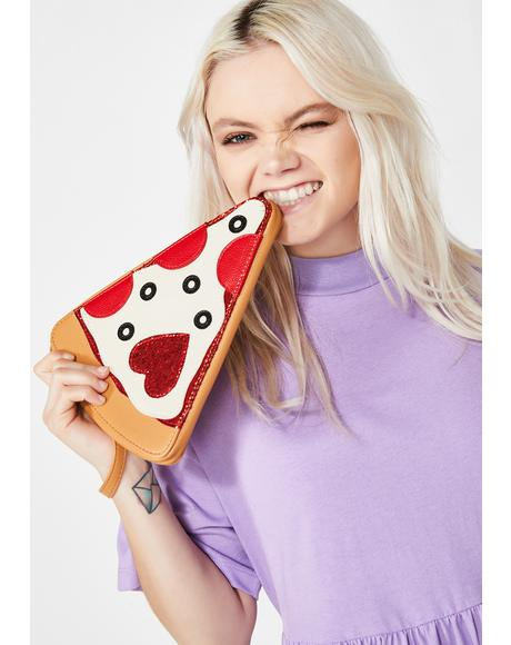 Single Slice Pizza Clutch
