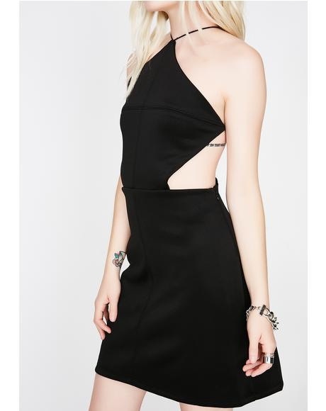 Sippin' Champs Cutout Dress