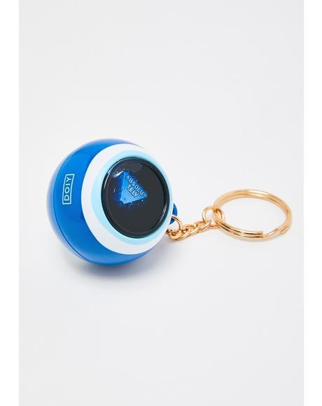 Seeing Evil Eye Keychain