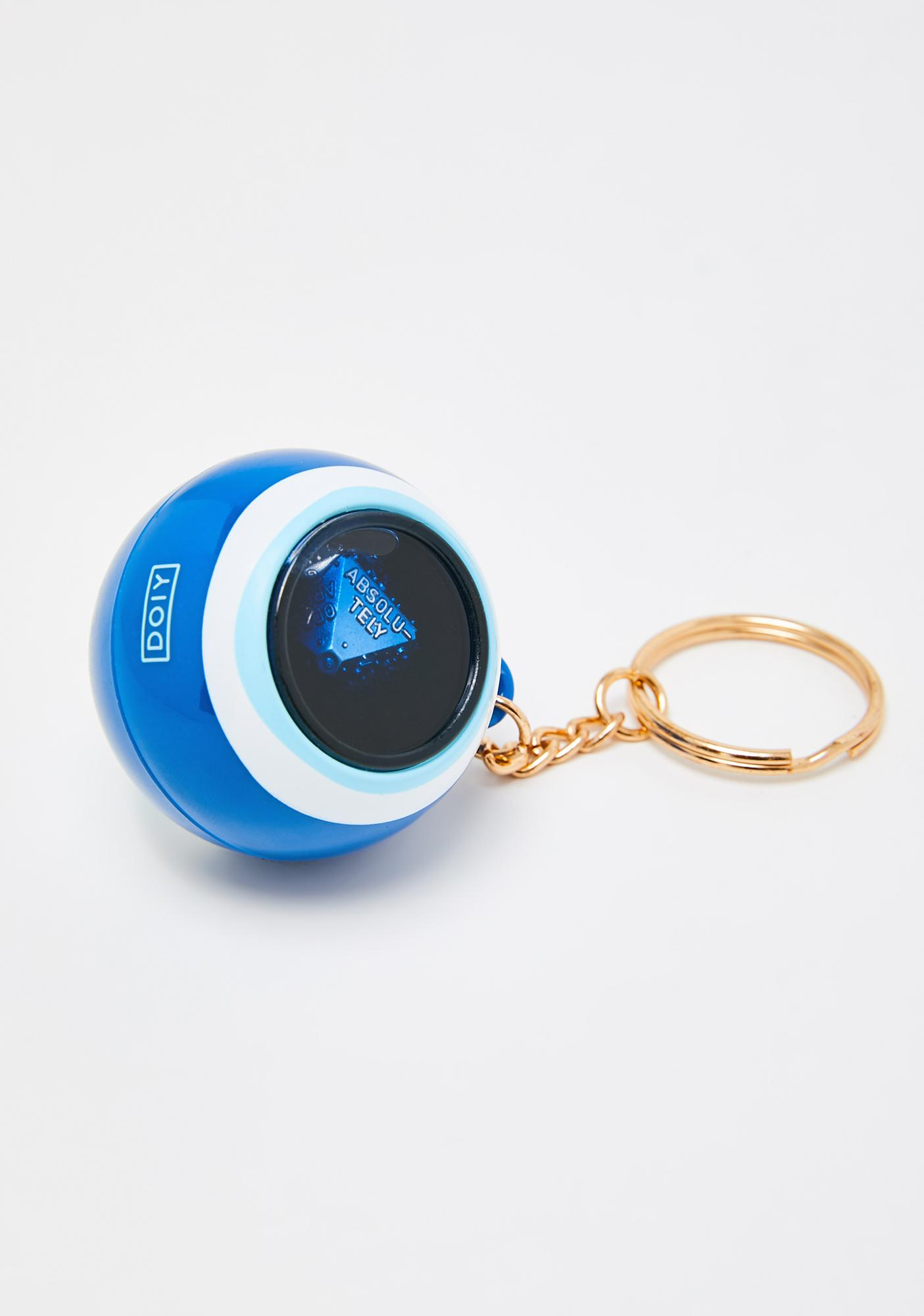 Seeing Evil Eye Keychain