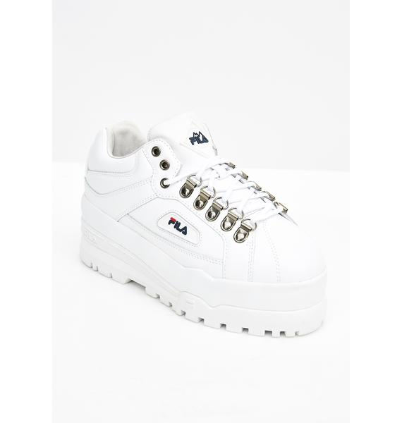 Fila Icy Trailblazer Wedge Sneakers