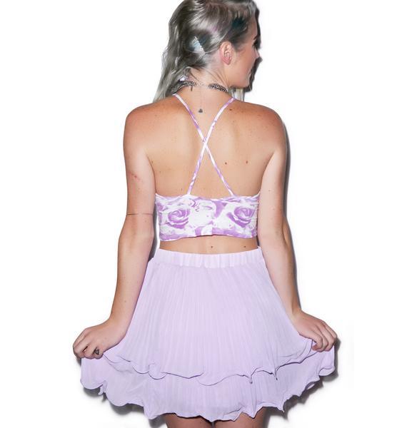 Making Waves Pleated Skirt