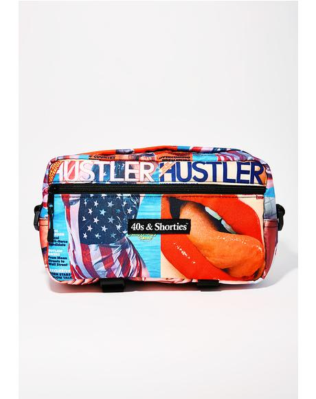 x Hustler Magazine Hip Bag