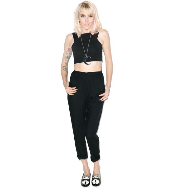 Motel Vina Halter Crop Top