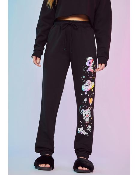 Intergalactic Magic Graphic Sweatpants