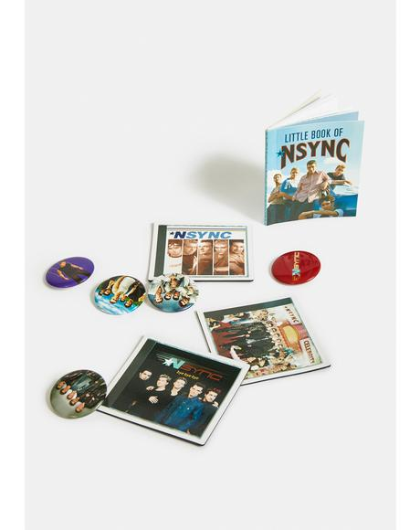 NSYNC Magnets, Pins, And Book Set