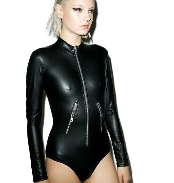 An Angel 4 Satan Bodysuit