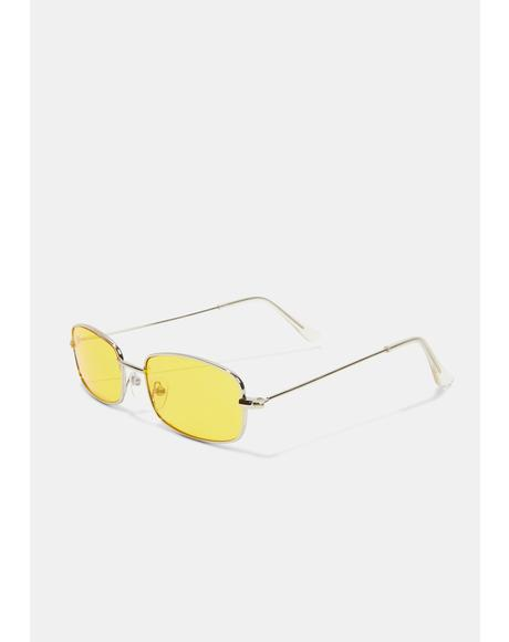 Golden Neo Age Sunglasses