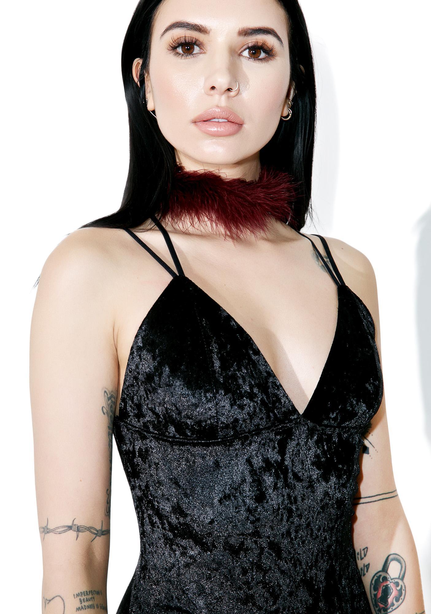 Charmed Velvet Bodysuit