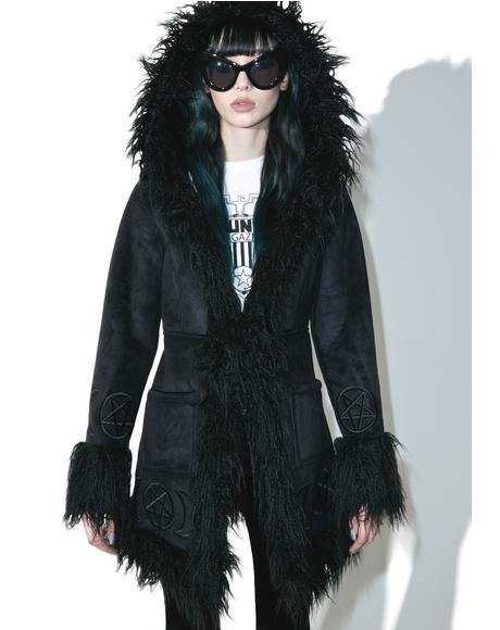 Die Anna Almost Infamous Shearling Coat