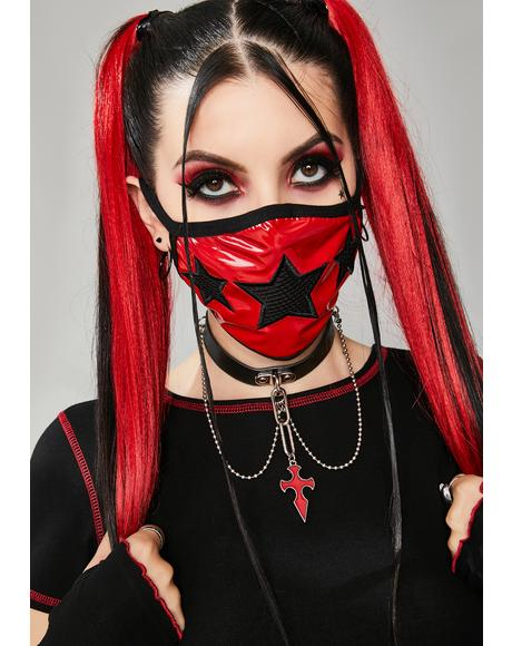 Nation Of Misfits Patent Face Mask
