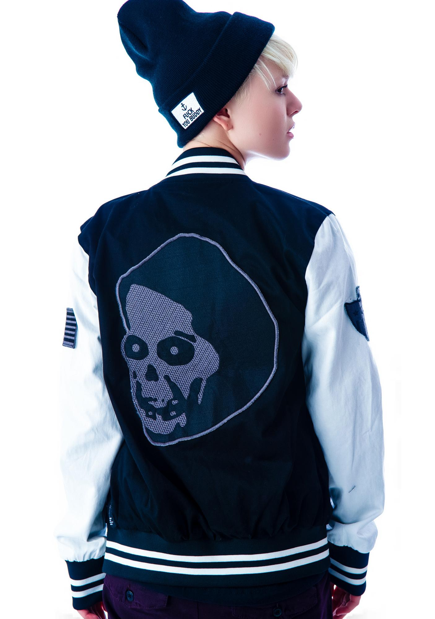 Kill City Varsity Racer Unisex Jacket