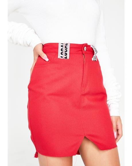 Red Hot Skirt