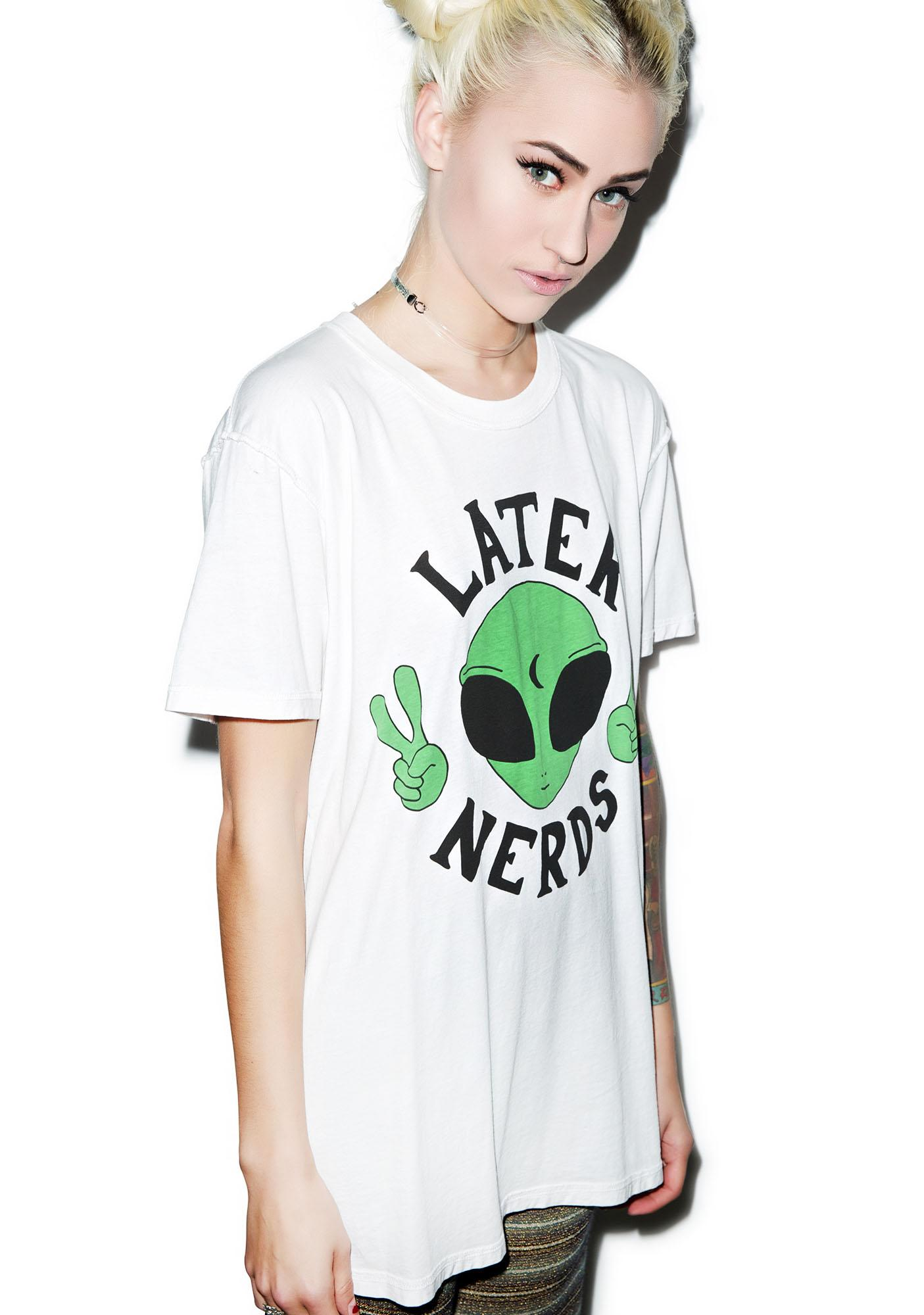 Jac Vanek Later Nerds Tee