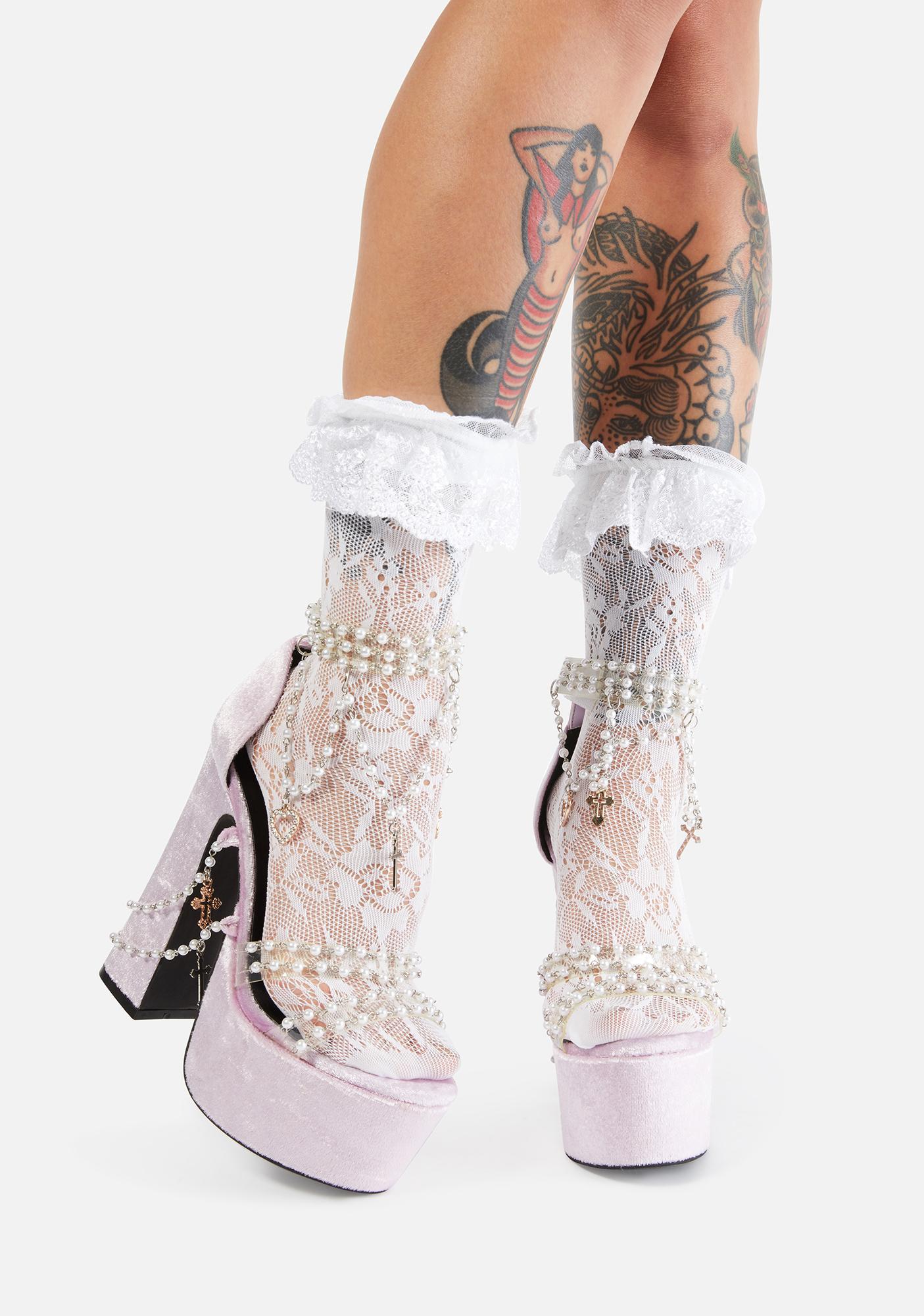 Sugar Thrillz Fairy Holy Revelation Platform Heels