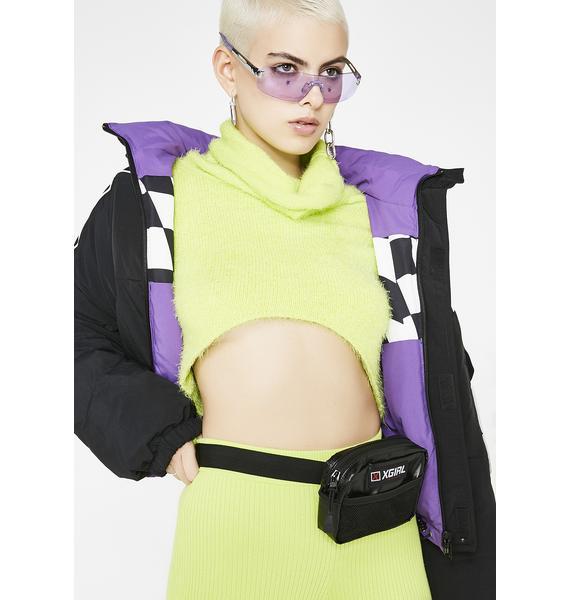 x-Girl Glossy Mini Belt Bag