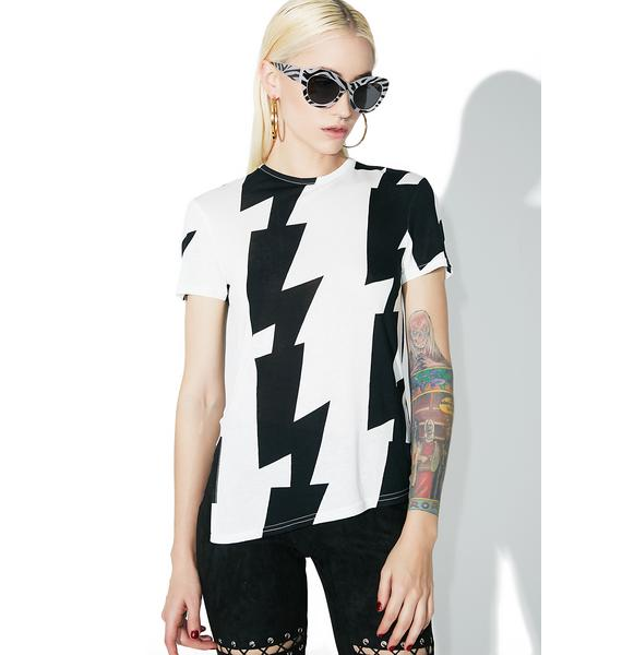 Cheap Monday Notion Olympia Stripe Top