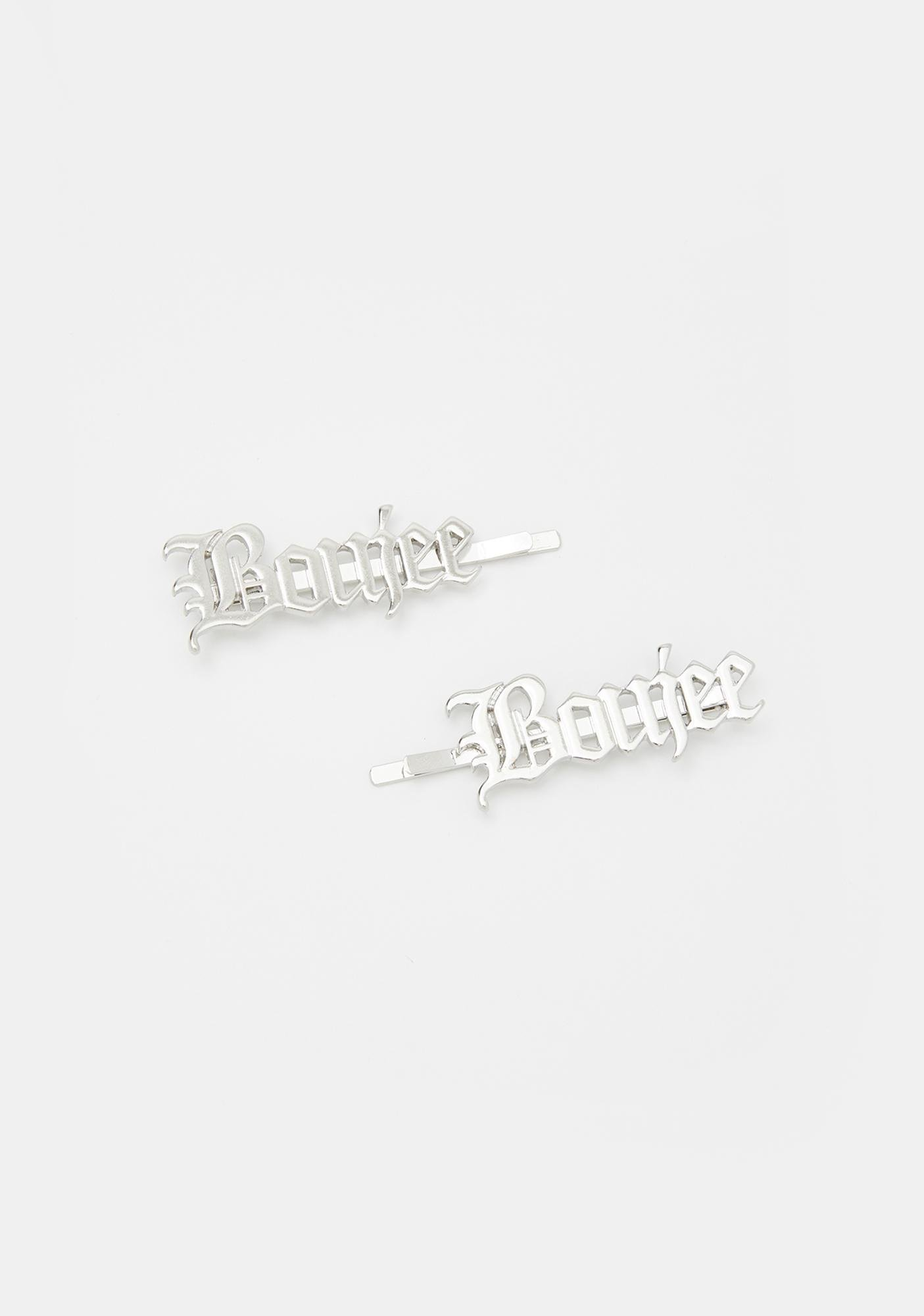 Boujee Appetite Hair Clips