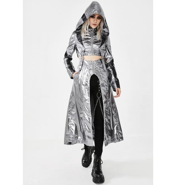 Punk Rave Cosmic Warrior Glossy Coat