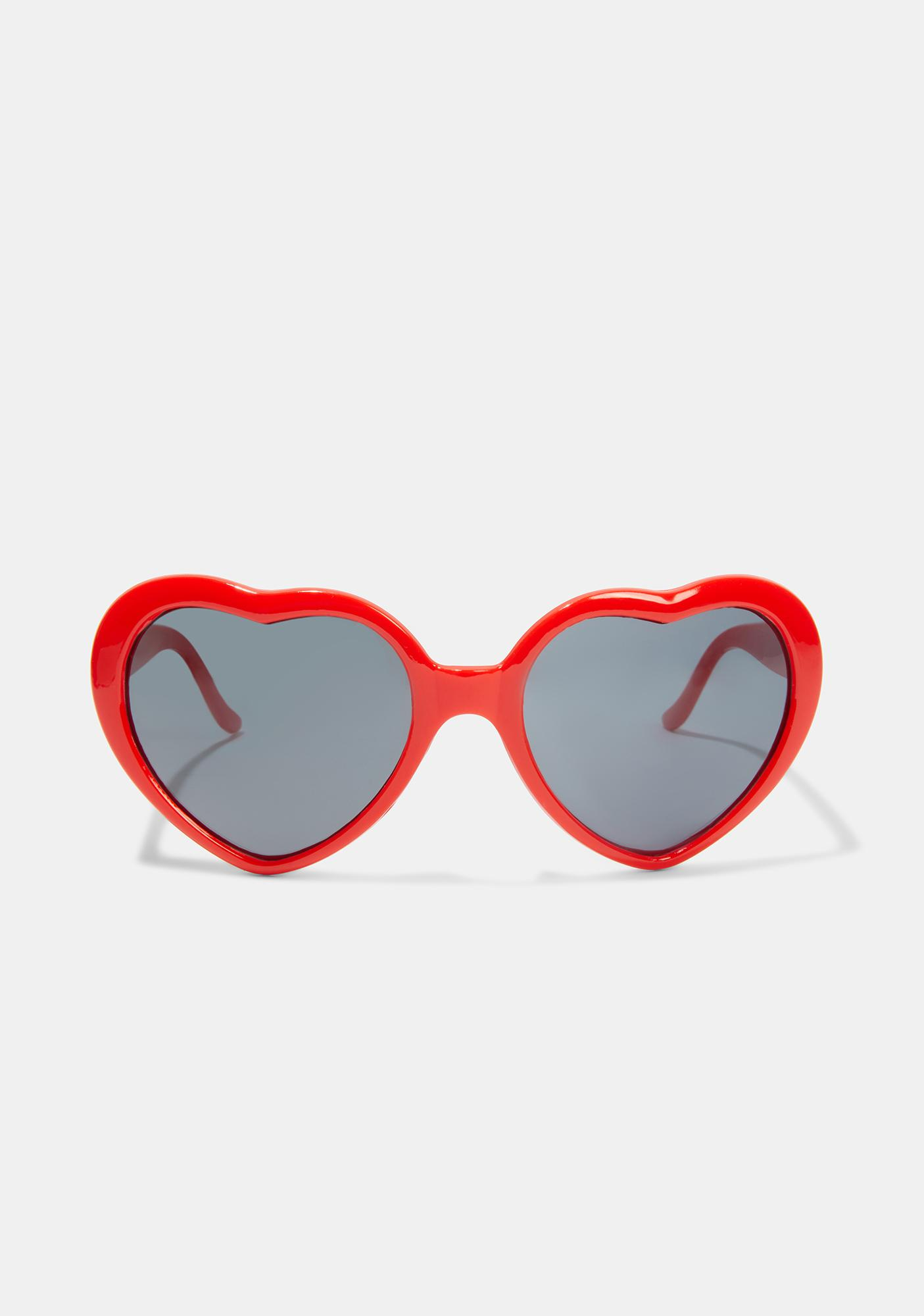 Love Wowza Heart Sunglasses