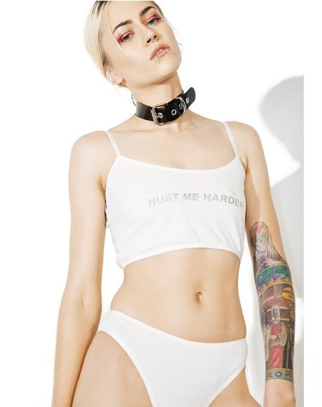 Hurt Me Harder Crop Top