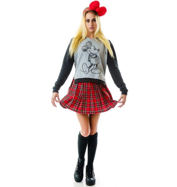 Junk Food Clothing Mickey Mouse Pullover Hoodie