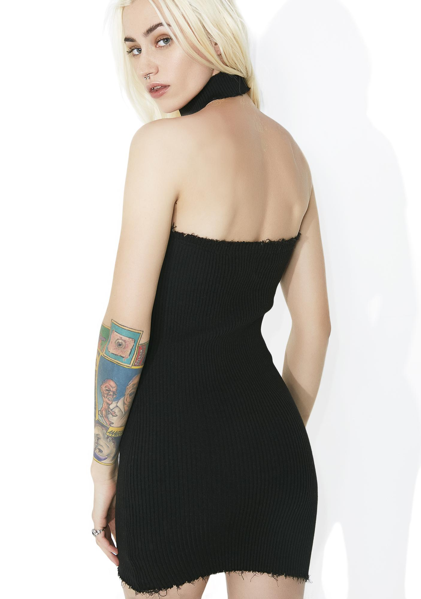 Dark Slayer Bodycon Dress